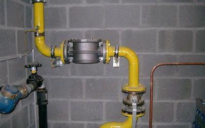 J. Cornelis - Centrale verwarming - GASLEIDING